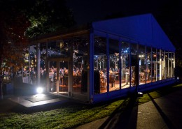 Glass-Walled Event Tent