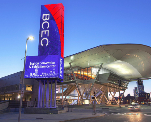 BCEC Marquee LED