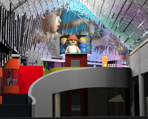The Strong Museum Video Screen Design